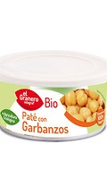 Paté vegetal de garbanzos